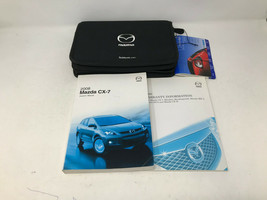 2008 Mazda CX-7 CX7 Owners Manual Handbook Set with Case OEM Z0A1086 - $18.54
