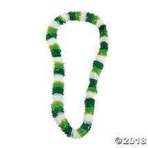 Dozen St. Patrick's Day Tri-Color Leis - $3.86