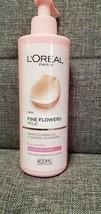 New L'Oreal Paris Fine Flowers Milk Dry & Sensitive Skin 13.5 Oz/400ml Cleanser - $22.30