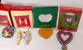 Vintage Lot Of 4 Hallmark Keepsake Christmas Ornaments - $11.87