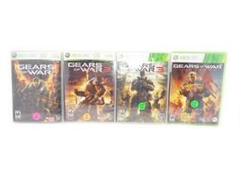 GEARS of WAR Quadrilogy Bundle (Microsoft Xbox 360) ~ 4 Games ~ Good Condition - $24.49