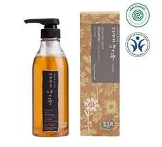 Whamisa Organic Seeds Mild Acidic Hair Shampoo for Dry Hair with Scalp, Itchy, D