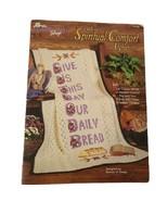 The Needlecraft Shop Crochet Spiritual Comfort Afghans Vintage Pattern L... - $9.49