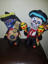 Halloween Animated Musical Day Of The Dead Plush Mariachi Set - €44,17 EUR