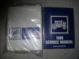 1985 Buick Electra & Park Avenue Service Shop Repair Manual Set W FISHER... - $98.99