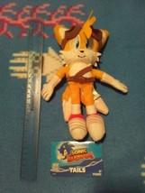 Sega Sonic Boom Tails plush toy doll Tomy Sonic the Hedgehog rare fox - $75.00