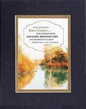 GoodOldSaying  Poem for Inspirations  [Our savior Jesus Christ hath abolished de - $11.14