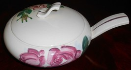 1940s Red Wing LEXINGTON ROSE PATTERN Covered Casserole MADE IN MINNESOTA - $69.29