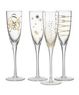 Celebration Champagne Flute Set of 4 - $2.409,05 MXN