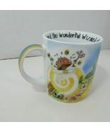 The Wizard of Oz Paul Cardew coffee cup mug rainbow flying house Glinda ... - $14.84