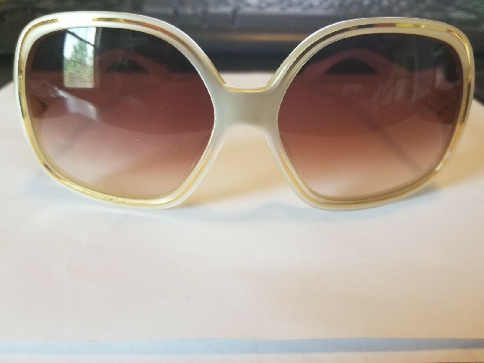Brand New Authentic Oliver Peoples Sunglasses OV Talya IS Ivory Frame BRAND NEW