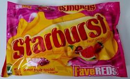 NEW STARBURST FRUIT CHEWS FAVEREDS FLAVORS FREE WORLDWIDE SHIPPING - $11.87