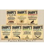 RICHARD SHARPE'S ADVENTURE Series by Bernard Cornwell Paperback Set of Books 1-7 - $84.99