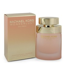 Michael Kors Wonderlust Eau Fresh By Michael Kors Eau De Toilette Spray 3.4 Oz F - $85.50