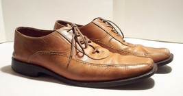 0c15829d19e Johnston  amp  Murphy Brown Leather Dress Casual Shoes 9M 20-7132 -  23.21