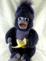 Mattel Tarzan Purple Monkey Terk Banana Talking Plush & Vinyl Disney Movie Talks - $34.64