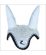 Full Size Horze Vertigo Sam Horse Ear Net Winter Sky U-WB-F - $23.25