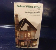 "Dept. 56 Dickens' Village ""Joseph Edward Tea Shoppe""  #4020183 - $46.75"