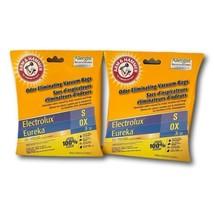 Vacuum Bags Arm & Hammer Lot 2 Pk of Odor Eliminating Eureka S Electrolux OX - $18.80