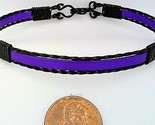 Purple anodized aluminum bracelet 2  1  thumb155 crop