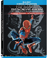 The Amazing Spider-Man 1 & 2 Collection [Blu-ray]  - $14.95