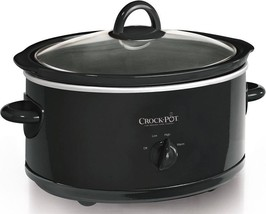 Crock-Pot Stainless Steel 7-quart Oval Manual Slow Cooker 7 Quart - $43.99
