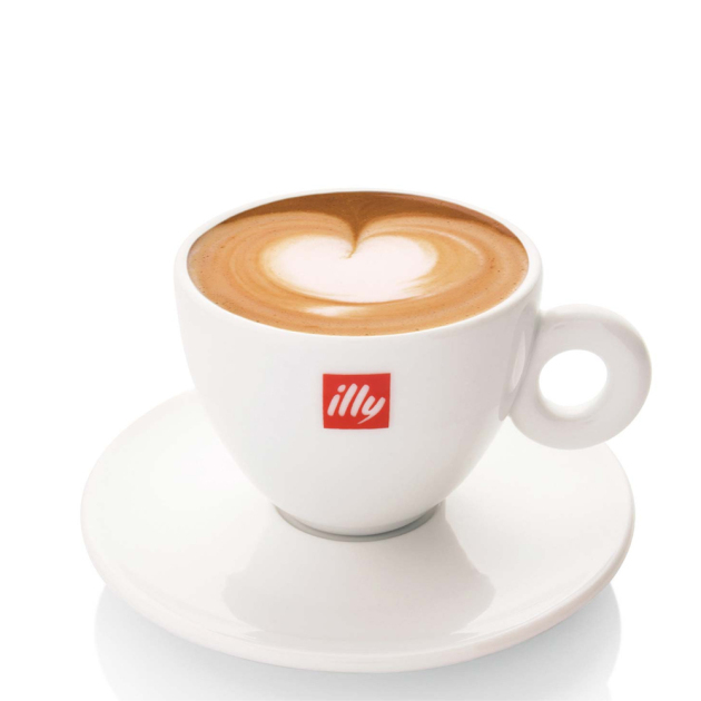 Illy Logo Coffee Cappuccino Mugs Cups 6 oz. and 50 similar items
