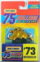 Matchbox - Rotwheeler: 75 Challenge Series #73 (1997) *Gold Edition / Li... - $5.00