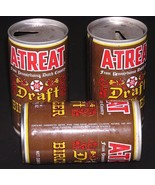 Beer Can A-Treat Draft Birch Beer Pennsylvania Dutch Country Three Cans - $5.93