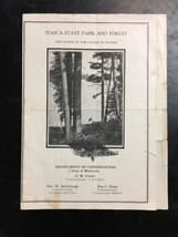 old Itasca State Park & Forest history Rules brochure MN dept of conversation image 1