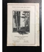 old Itasca State Park & Forest history Rules brochure MN dept of convers... - $39.99