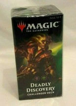 Challenger Deck Deadly Discovery Magic the Gathering MTG NEW Factory Sealed - $19.79