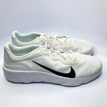 Nike Explore Strada Sneakers Men's Size 15 White/Black CD7093-101 Nwob - $29.18