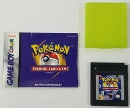 MI) Pokémon Trading Card Game (Nintendo Game Boy Color, 2000) Video Game Tested - $24.74