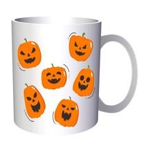 Scary Halloween Pumpkin 11oz Mug q179 - $203,52 MXN