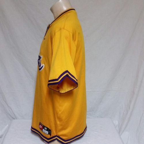 f5d2fbafb50c VTG Nike Los Angeles Lakers Warm Up Jersey Shooting Shirt Authentic 90s  Medium
