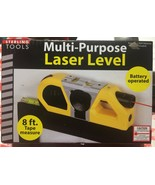 STERLING TOOLS MULTI-PURPOSE LASER LEVEL WITH SUCTION MOUNT GW323 - $9.89