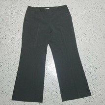 Van Heusen NWOT Women's Dress Pants ~ Sz 12 Short ~ Dark Gray ~ Stretch - $24.74