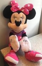 Disney Minnie Mouse Pink & Purple Plush Doll Stuffed Animal 2015 - $15.88