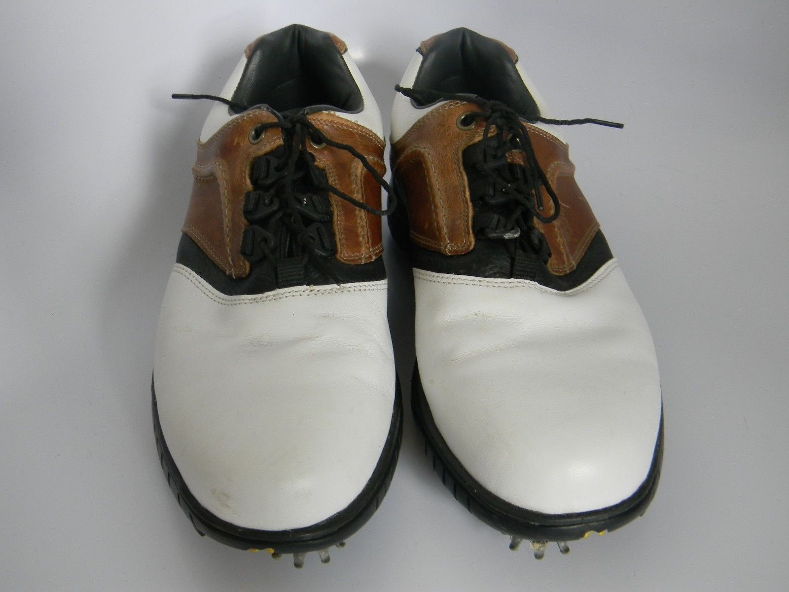 Mens Footjoy Contour Series White Brown And 40 Similar Items