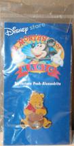 Winnie The Pooh Disney Birthstone Alexandrite Collectible Pinback Pin Button - $9.32