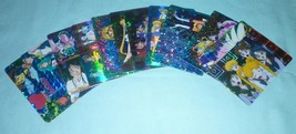 Vintage Holo Sailor Moon prism sticker card lot fair sailormoon - $120.98