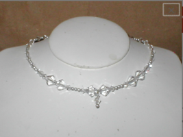 Swarovski Clear Crystal Bridal Necklace - $34.16