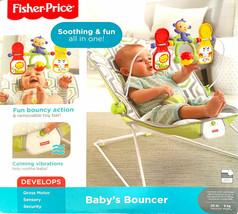 Fisher-Price Bouncer - Geometric (Geo) Meadow CMR17 - NEW Open Box - $39.98
