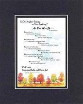 Personalized Touching and Heartfelt Poem for Inspirations - As Time Goes By .Poe - $22.72
