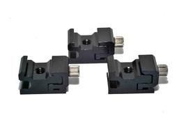 3x Adjustable Speedlite Cold Shoe 1/4 Screw to Flash Hot Shoe Mount Adapter - $5.89