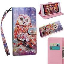 XYX Wallet Phone Case for Sony Xperia L1,[Wrist Strap] Painted Design Pu... - $9.88