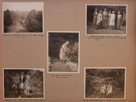 1930's ORIGINAL PHOTO APRIL FAMILY GREAT FOSTERS GARDENING - $72.39