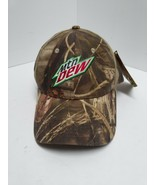Mtn Dew Mountain Camouflage Adjustable Snap Back Hat Baseball Cap New W/... - $19.79