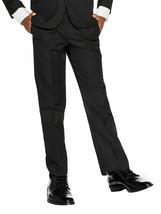 Boys Kids Juniors Slim Fit Flat Front Dress Pants Slacks Trousers w/ Defect 8 image 1